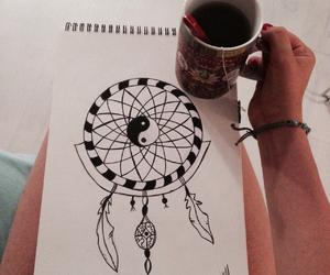 art, dessin, and namaste image