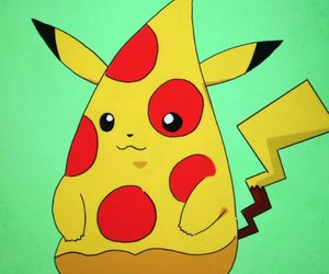 funny, cute, and pikachu image