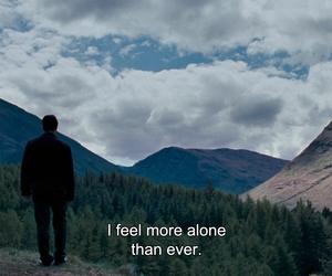 alone, quote, and sad image