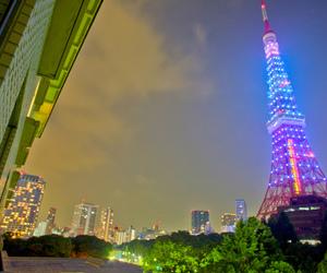 beautiful, japan, and tokyo tower image