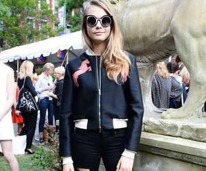 model, fashion, and cara delevingne image