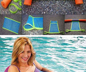 diy, summer idea, and noodle pool chair image