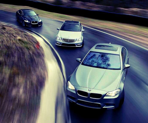 bmw, cars, and mercedes image