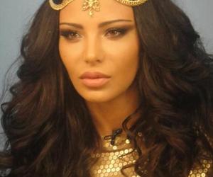 hair, shorena begashvili, and brunette image