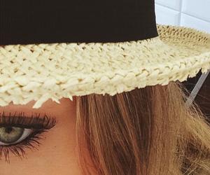 brunette, eye, and eyes image