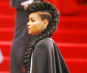 hair, janelle monae, and pretty image