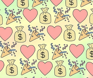 background, wallpaper, and money image