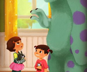 boo, disney, and toy story image