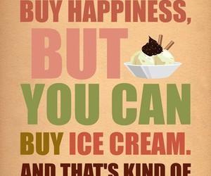 buy, ice cream, and money image