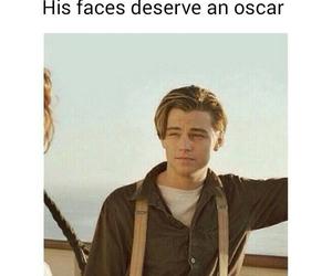 Leonardo, oscar, and titanic image