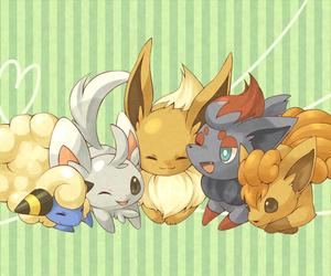 pokemon and zorua image