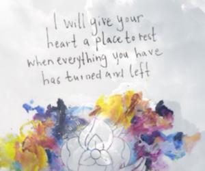 background, band, and Lyrics image