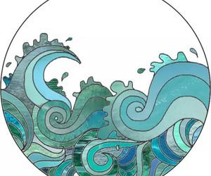 art, blue, and transparent image