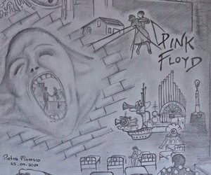 draw, Pink Floyd, and sketch image