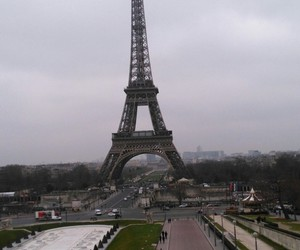 big, eiffel tower, and landscape image