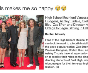 ashley tisdale, high school musical, and zac efron image