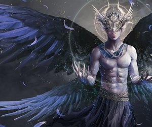 angel, character, and seraph image