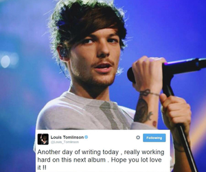 louis, quotes, and tweet image