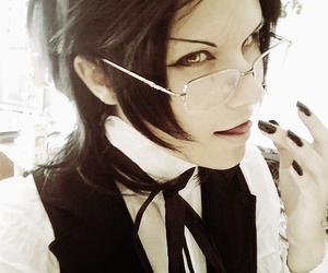 cosplay, kuroshitsuji, and claude faustus image