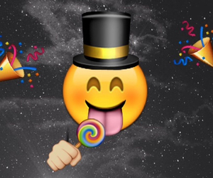 apple, background, and emoji image