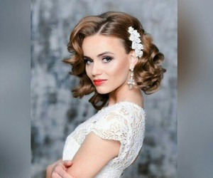 beautiful, coiffure, and curly image