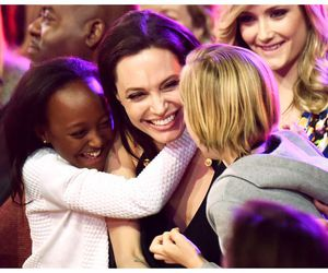 Angelina Jolie, family, and love image