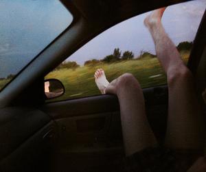 car, feet, and free image