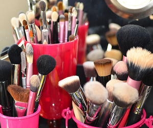 beauty, Brushes, and glam image