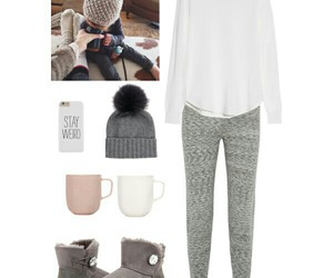 outfit, Polyvore, and sleep image