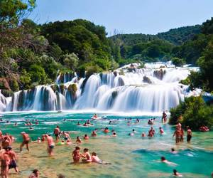summer, Croatia, and water image
