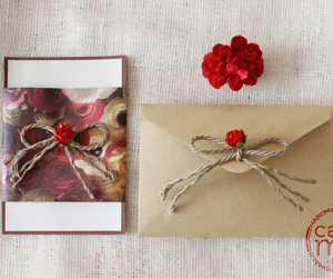 cards, handmade, and invitations image