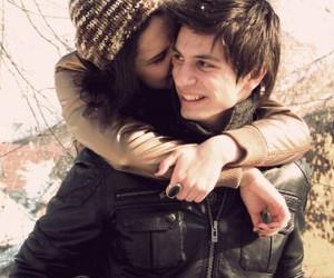 couple, pretty, and cute image