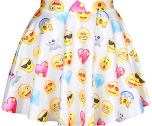 skirt and emoji image