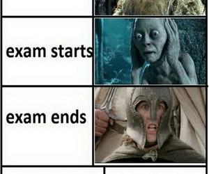 exam, lol, and stress image