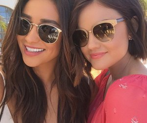 lucy hale, shay mitchell, and pll image