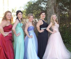 dress, girls, and graduation image