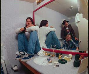 90's, dave grohl, and foo fighters image