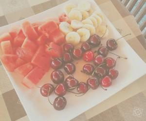 banana, cherry, and food image