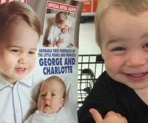 funny, prince george, and cute image