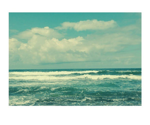 beach, blue, and nature image