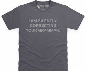 funny, gift, and grammar image