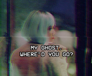 halsey, ghost, and Lyrics image