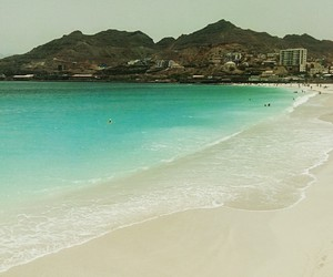 beach, heaven, and cabo verde image