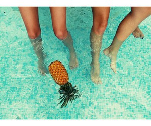 holiday, pineapple, and summer image