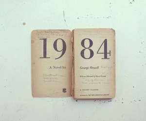 1984, book, and read image