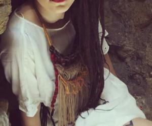 colour, hair, and rasta image