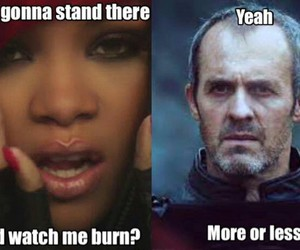 funny, game of thrones, and stannis baratheon image