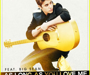 justin bieber, as long as you love me, and boy image