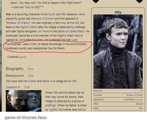 hitler, olly, and game of thrones image