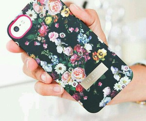 apple, cover, and flowers image